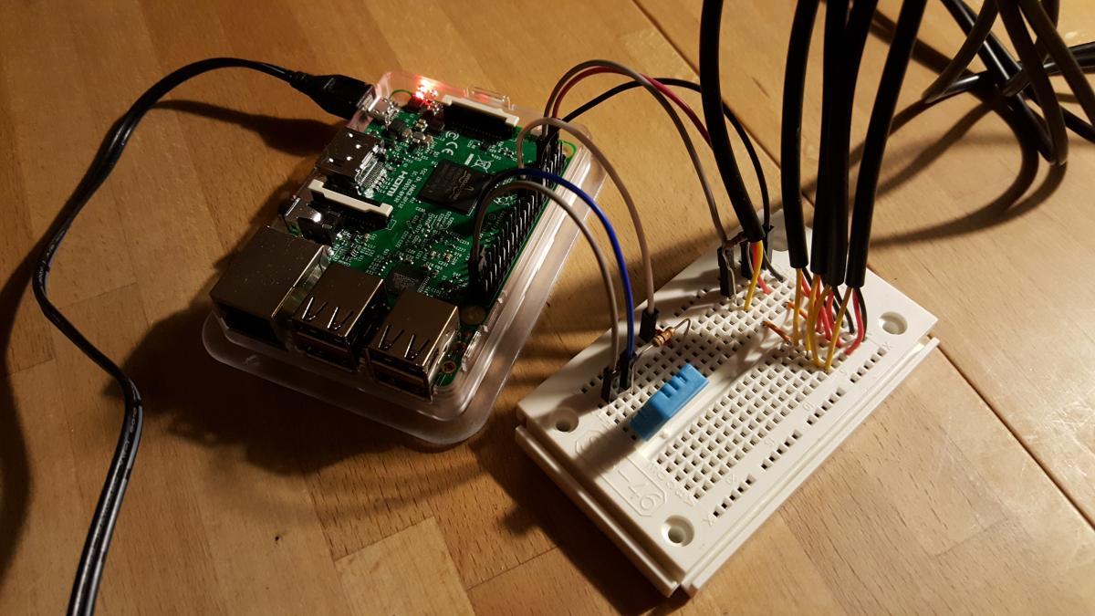 Raspi3 + Sensoren
