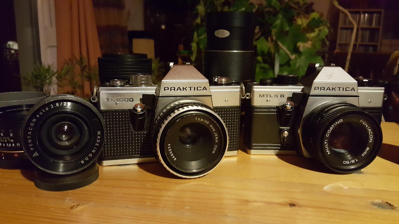 Neue Prakticas in der Kamerasammlung
