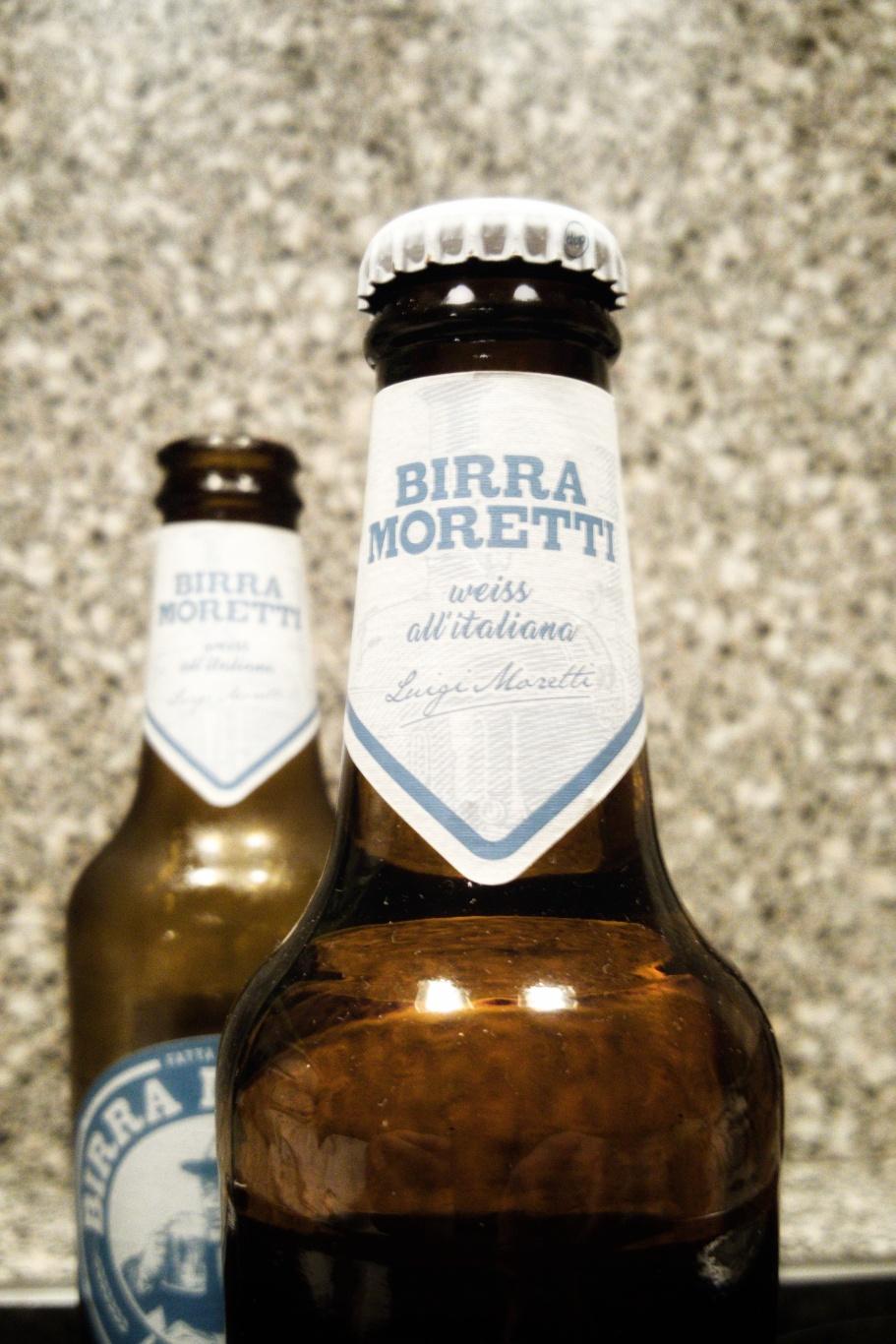 Flasche Moretti La Bianca