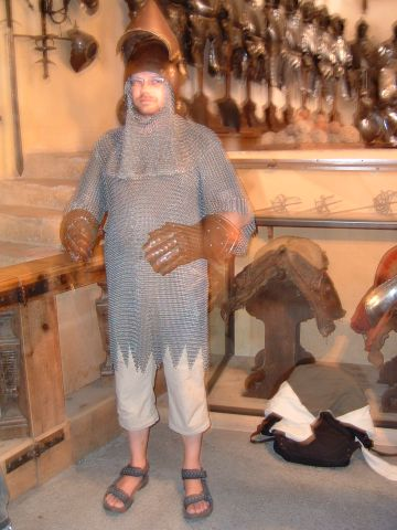 Chrisu als Ritter